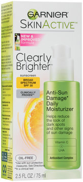 Garnier® Skin Active™ Clearly Brighter™ Anti-Sun Damage Daily Moisturizer with Broad Spectrum SPF 30