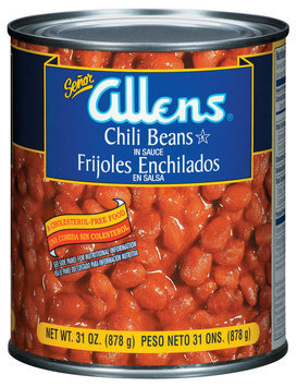 The Allens In Sauce Chili Beans 31 Oz Can