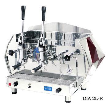 Isomac La Pavoni Diamente Lever Coffee Maker Color: Red