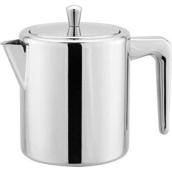 Cuisinox Teaps10 1 Liter Teapot With Infuser, Stainless Steel