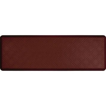 Wellness Mat Llc Wellness Mats Motif MM62WMR Moire Anti Fatigue Mat Burgundy
