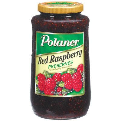 Polaner Red Raspberry Preserves 32 Oz Jar