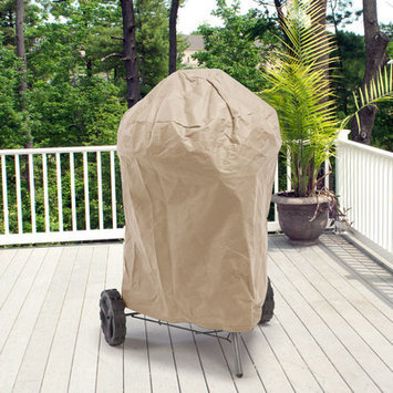 Budgeindustries All-Seasons Round Smoker Grill Cover Color: Tan