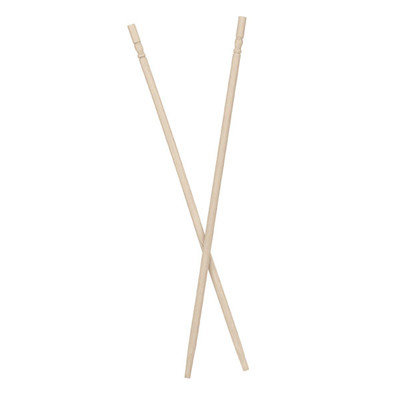 Paderno World Cuisine 49627-24 Bamboo Chopsticks - pack of 100 (unwrapped) L 9.5 x W 0.125 x H 0.125