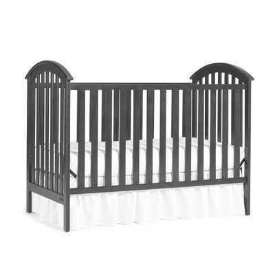 Graco Freeport Classic 3-in-1 Convertible Crib Finish: Gray