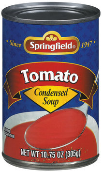 Springfield Tomato Condensed Soup 10.75 Oz Can