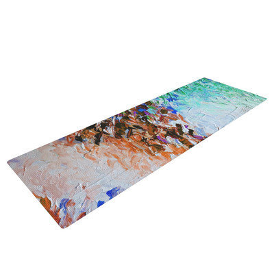 Kess Inhouse Winter Retreat by Ebi Emporium Yoga Mat