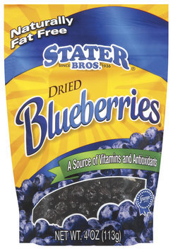 Stater Bros. Dried Blueberries 4 Oz Peg