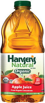 Hansen's® Natural Organic Apple 100% Juice 64 fl. oz. Bottle