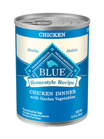 THE BLUE BUFFALO CO. BLUE™ Homestyle Recipe® Chicken Dinner with Garden Vegetables For Adult Dogs
