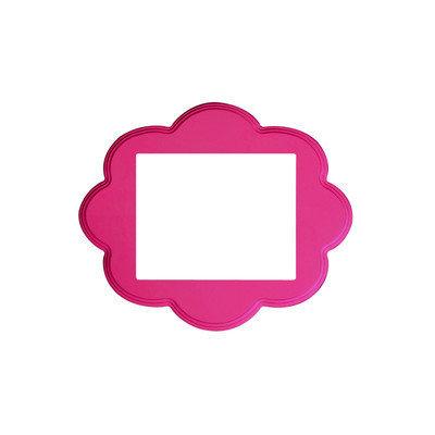 Secretly Designed Ella Frame Size: 8x10, Color: Hot Pink