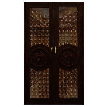 Vinotemp Concord 700-Model Wine Cabinet Finish: Rich Brown