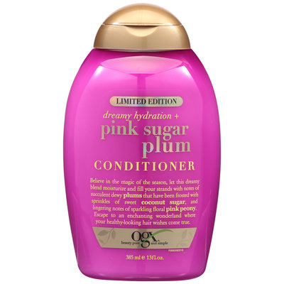 OGX Dreamy Hydration + Pink Sugar Plum Conditioner