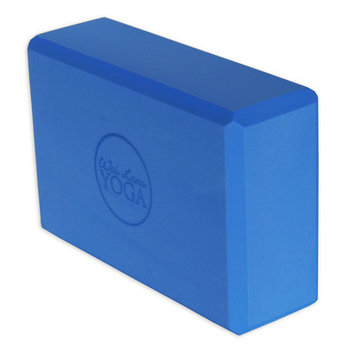 Wai Lana Productions 162 3 in. Foam Yoga Block 16 Block - Blue