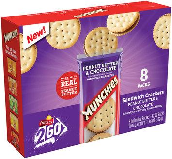 Munchies® Peanut Butter & Chocolate Sandwich Crackers 8-1.42 oz. Packs