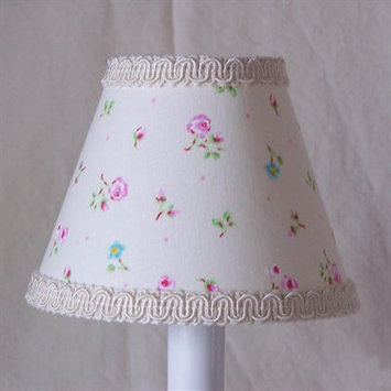 Silly Bear Angelic Floral Table Lamp Shade