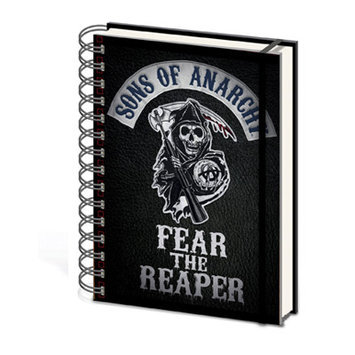 Ace Framing Sons of Anarchy Fear the Reaper A5 Notebook