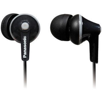 Panasonic Earbud TCM125 Heaphones with In-Line Remote - Black