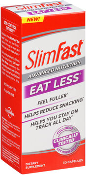 SlimFast® Advanced Nutrition Eat Less® Capsules Dietary Supplement 30 ct Box
