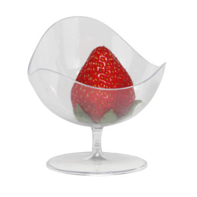 Restaurantware Ball Fruit Chair Color: Clear