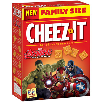 Cheez-It® Marvel Avengers Age of Ultron Baked Snack Crackers