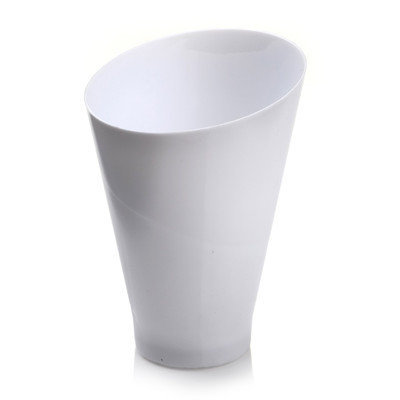 Restaurantware Incline 6.5 oz. Round Cup (100 Count) Color: White