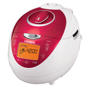CUCKOO Electric Pressure Rice Cooker CRP-N0681F 6-Cups Pink 110V