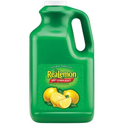 ReaLemon® 100% Lemon Juice 1 gal. Jug