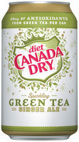 Canada Dry® Diet Green Tea Ginger Ale