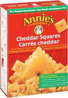 Annie's Homegrown® Cheddar Squares Baked Snack Crackers 213g Box