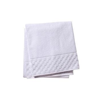 Jacaranda Living Hand Towel Color: White