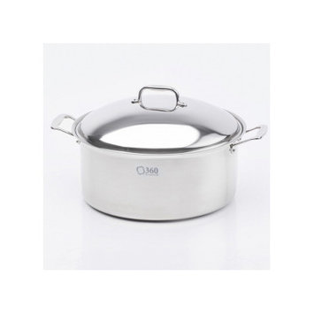 Cookware Stock Pot with Lid Size: 12 Quarts