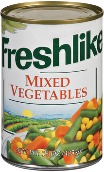 Freshlike  Mixed Vegetables 15 Oz Can