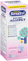 Children's Benadryl® Bubble Gum Flavored Liquid Allergy 4 Fl Oz Box