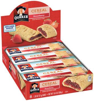 Quaker® Life Less Sugar Strawberry Crisp Cereal Bars