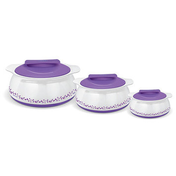 Milton Exotique 3 Piece Oval Casserole Set