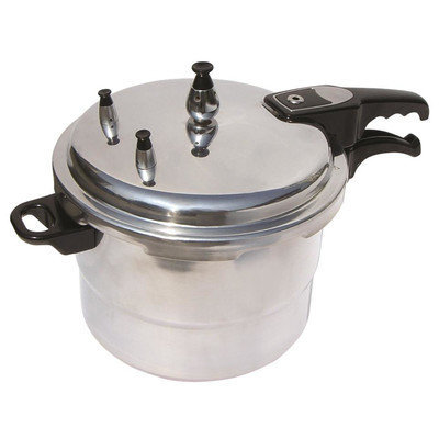 Mbr Industries 6-Quart Aluminum Pressure Cooker Size: 6 Quart
