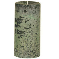 Oddity, Inc. Oddity 53226 3 in. x 6 in. Weathered Pillar Candle Woodland Pack of 2
