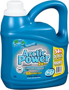 Arctic Power™ 2x Ultra Cold Water Waterfall Fresh Liquid Laundry Detergent 3.96L Jug