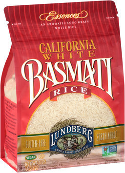 Lundberg California White Basmati Rice 4 lb. Bag