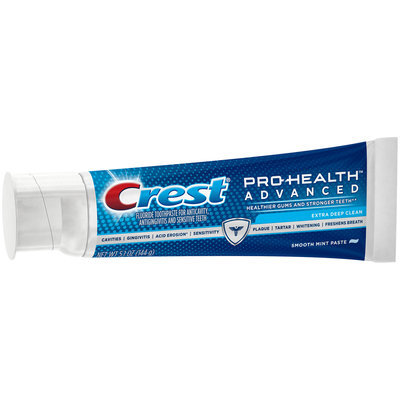 Advanced Cleaning Crest Pro-Health Advanced Extra Deep Clean Toothpaste 5.1 oz.