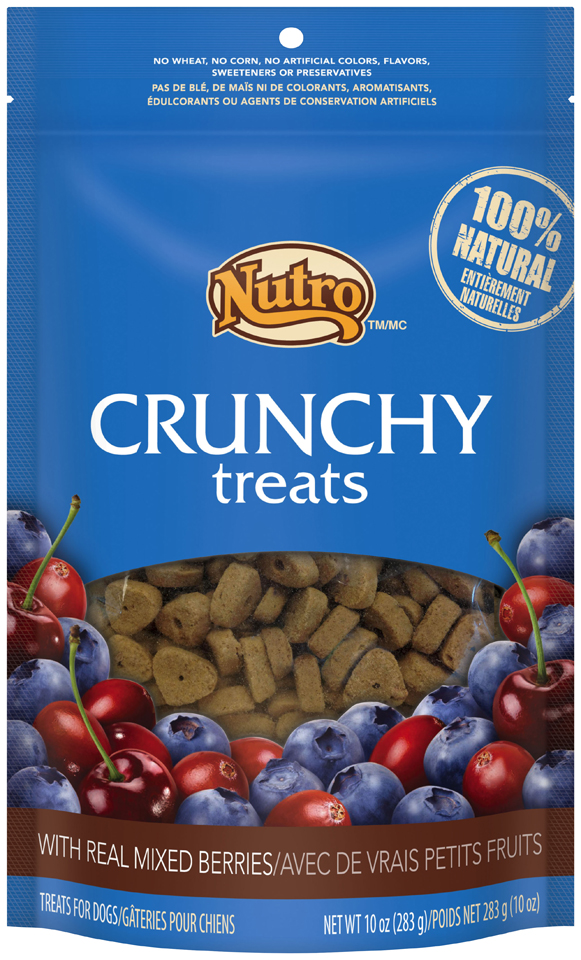 Nutro™ Crunchy Treats with Real Mixed Berries 10 oz. Bag