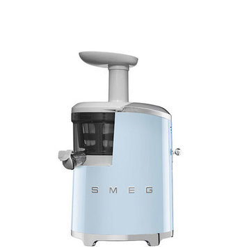 Smeg 50s Style Slow Juicer Color: Pastel Blue