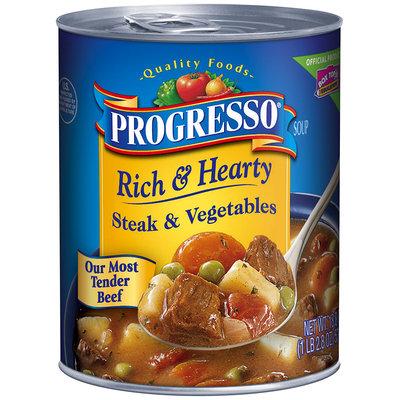 Progresso® Rich & Hearty Steak & Vegetables Soup 18.8 oz. Can