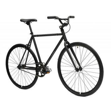 Critical Cycles Fixed Gear Fixie Urban Road Bike, Matte Black, Medium