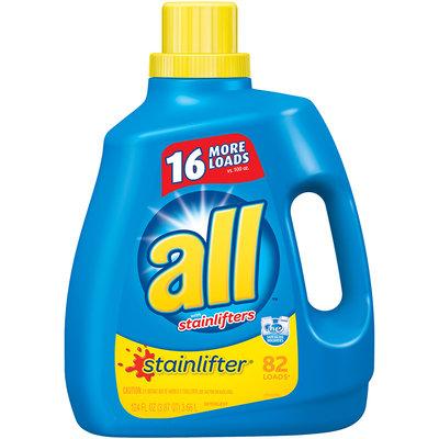 all® stainlifter® Laundry Detergent 124 fl. oz. Bottle