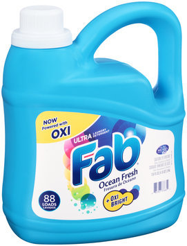 Fab® Ocean Fresh Ultra Laundry Detergent 134 fl. oz. Jug