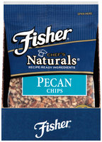 Fisher® Chef's Naturals® Pecan Chips 2 oz. Bag