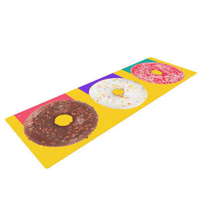 Kess Inhouse Donuts by Danny Ivan Yoga Mat