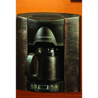 BREW EXPRESS Bronze 4 cup Built-In Coffee System Stainless steel